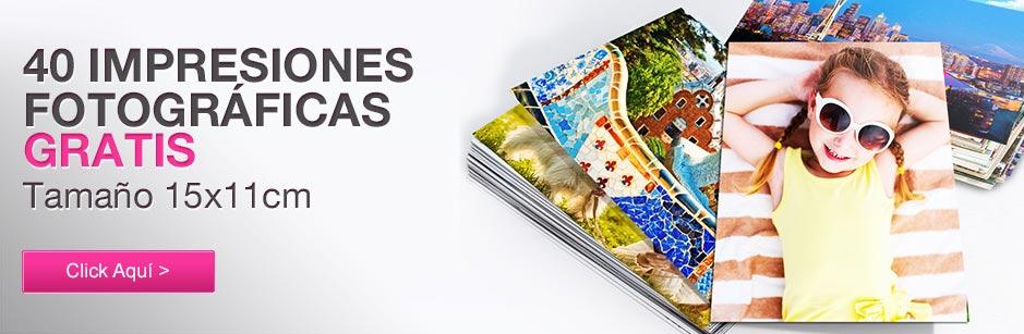 40 Impresiones de fotos gratis